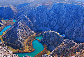 canyon of krupa river on off the beaten path tour of croatia