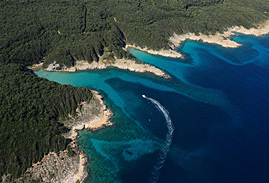 scenic coastline of rab island on the off the beaten path tour of croatia