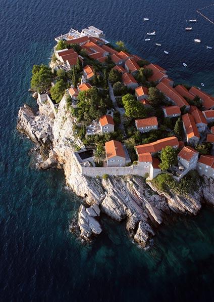 Aman resort on Sveti Stefan