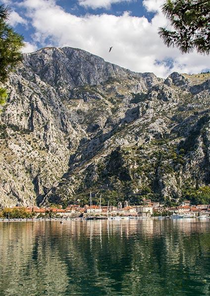 visit Montenegro and Boka bay