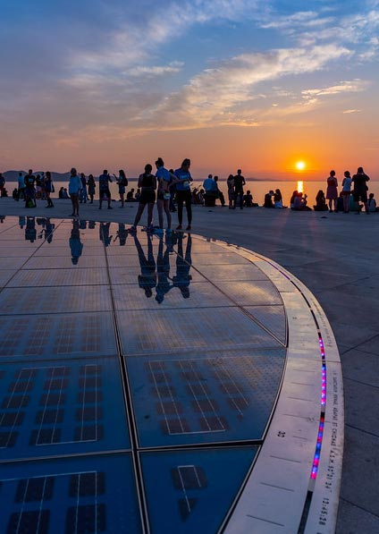 Day 6, Visit the Sea Organ and Greeting to the Sun in Zadar