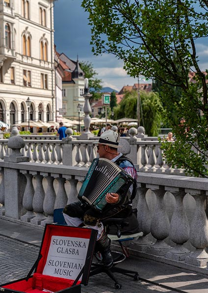 Day 1, Ljubljana walking tour