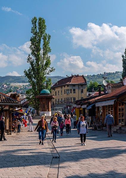 Day 10, explore Sarajevo and its Jewish heritage