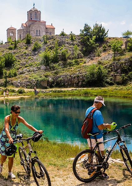 Day 11, private guided cycling tour of Dalmatian hinterland
