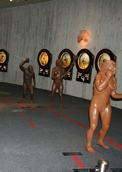 Day 11, visit Krapina and the museum featuring recreations of Neanderthal life