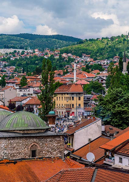 Day 11, visit Sarajevo and explore its Jewish heritage as a part of our Jewish Heritage Tour
