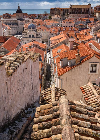 Day 14, explore the charm of Dubrovnik old town during a walking tour