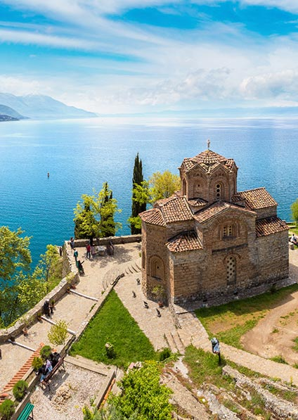 Day 18, visit the town of Ohrid with Ohrid lake