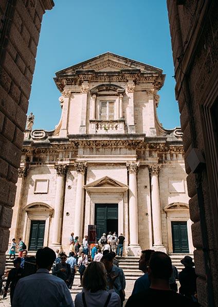 Day 2, walking tour of Dubrovnik, wine tour of Croatia