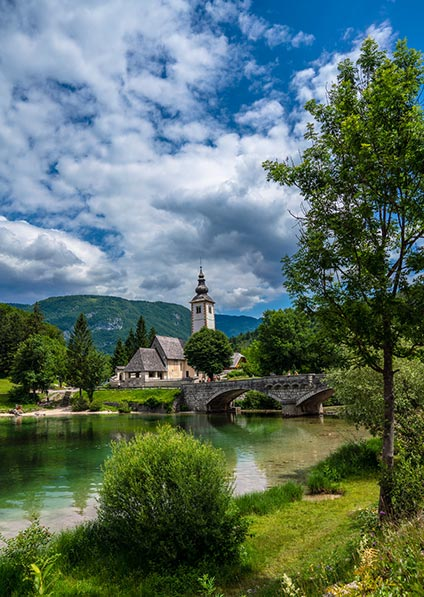 Day 3 - a private guided tour of Bled and Bohinj lakes