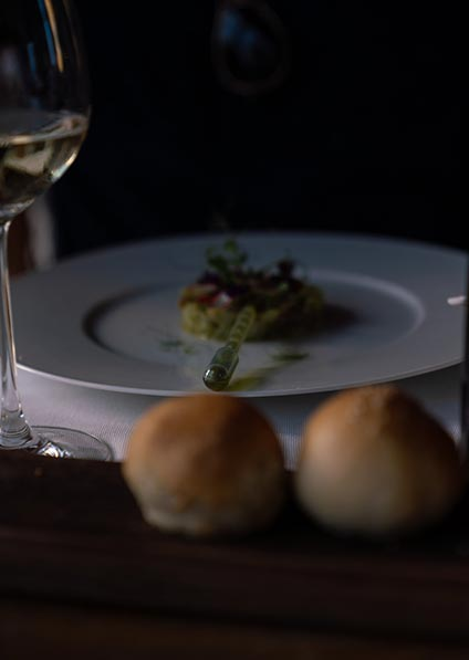 Day 3, enjoy a special wine pairing dinner on your first day in Meneghetti in Bale