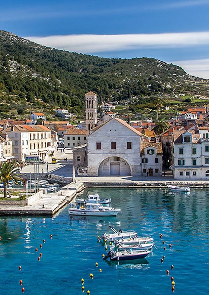Day 4, visit and explore historical town of Hvar