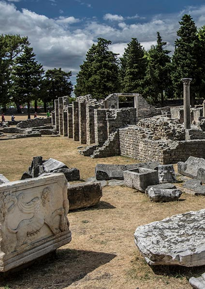 Day 5, visit Salona and Trogir near Split for traces of Jewish heritage
