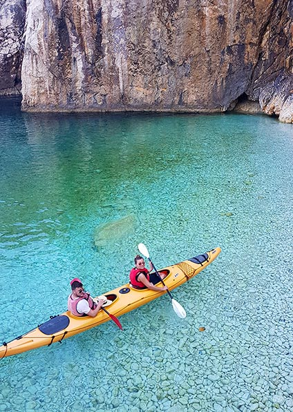 Day 5, Sea Kayak on Rab Beaches with a private guide