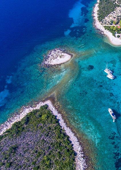 Day 5, island hopping along the Croatian coastline