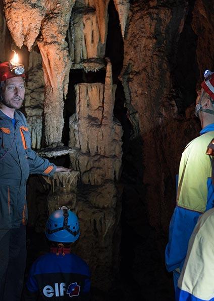 Day 7, enjoy spelunking at Modric cave near Zadar