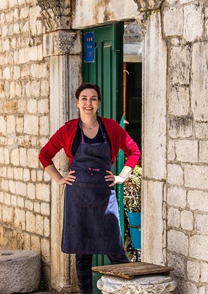 Day 7, chef Tatjana, cooking class, Trogir
