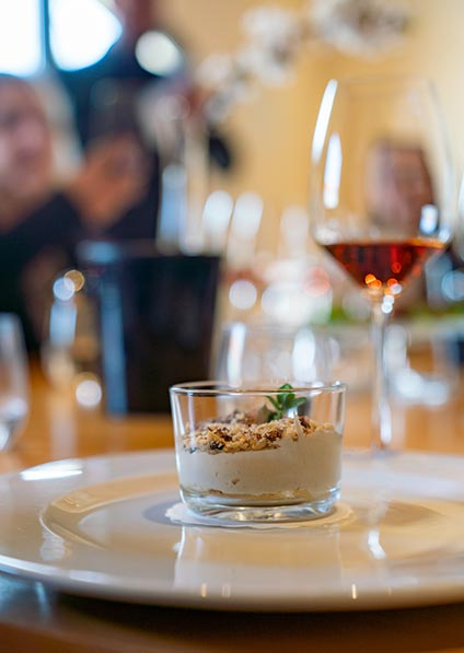 Day 7, enjoy a gourmet wine pairing lunch served at Bibich Winery