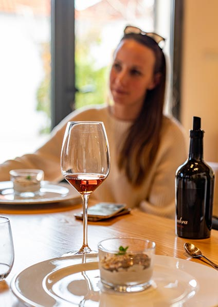 Day 7, wine tour croatia includes wine pairing lunch at Bibich winery