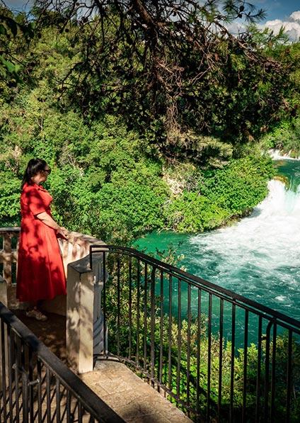 Day 8, Krka Waterfalls