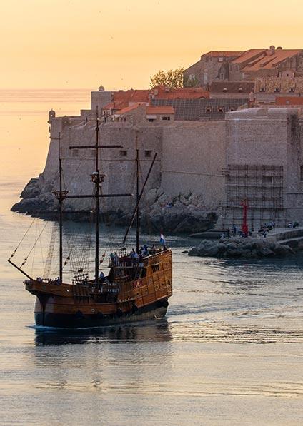 Day 9, Dubrovnik at sunset