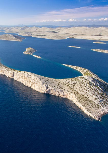enjoy a private motorboat trip to Kornati - Dugi Otok, and next to the tallest lighthouse on the Adriatic