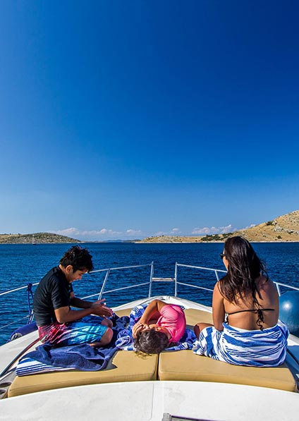 Day 9, visit the Kornati National Park and spend the day swimming and snorkeling