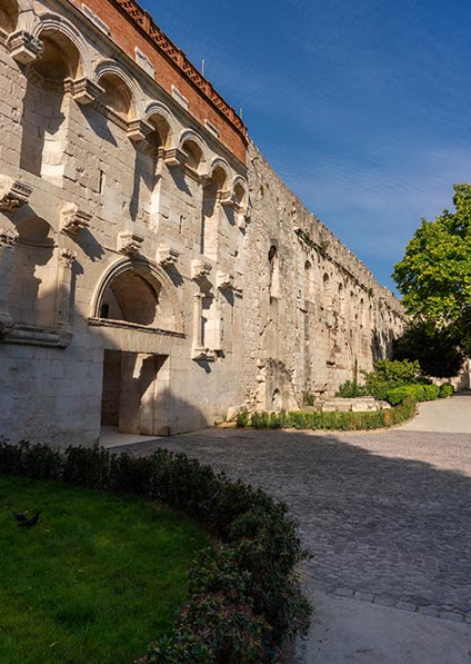 explore the Diocletian's palace in Split