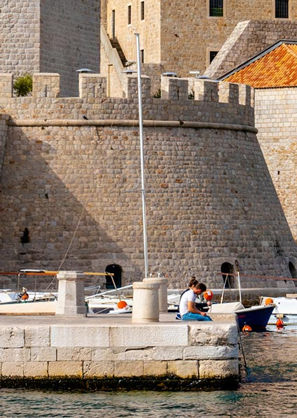 visit Dubrovnik and explore the old town during Croatia off season tour