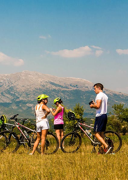 Private cycling tour in the Dalmatian countryside