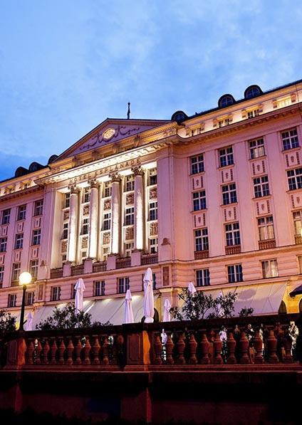 stay at Hotel Esplanade in Zagreb