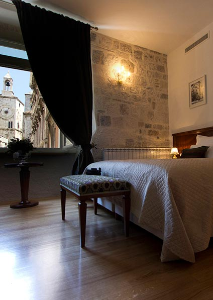 Romantic heritage hotel Judita Palace 4* located in the center of the Old town of Split