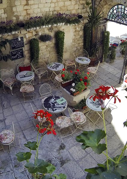 Hotel Judita Palace in Split is a place for culture lovers