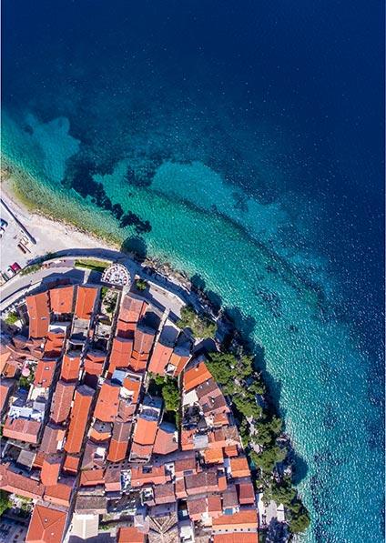 visit and explore Korčula island