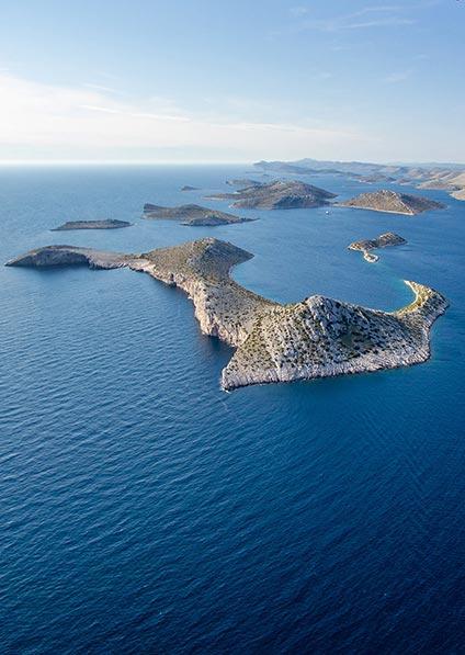 enjoy a day trip to Kornati islands