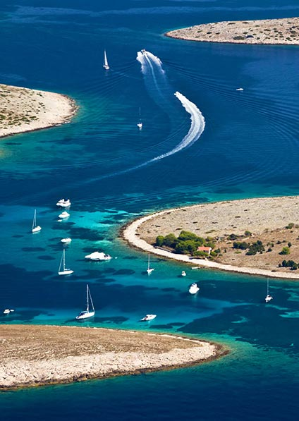 visit Kornati islands as a part of our Adriatic Dreaming program