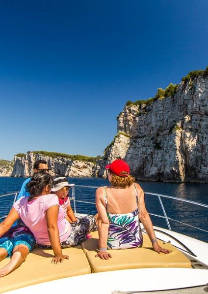 enjoy a private motorboat tour of Kornati islands