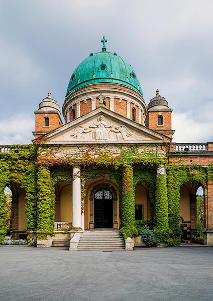 Mirogoj Cemetery in Zagreb is one of the highlights of our walking tour of Zagreb's historical center