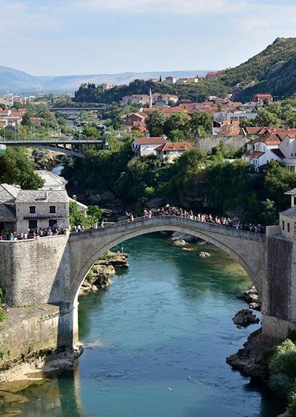 visit and explore Bosnia and Herzegovina for the Jewish heritage