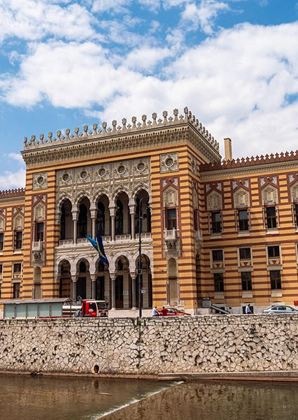 visit Sarajevo historical center for the Jewish heritage