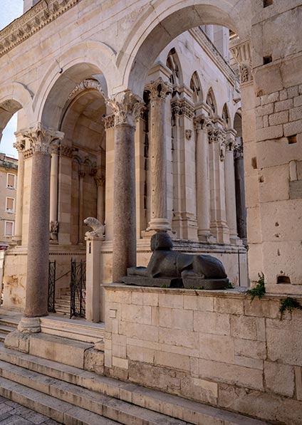 enjoy a private guided walking tour of Split and Diocletian's Palace