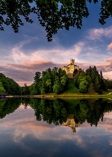 Castles of Zagorje, Trakoscan castle