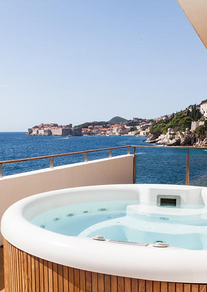 enojy in hotels' amenities druing your stay in Croatia as a part of our In Love in Croatia program