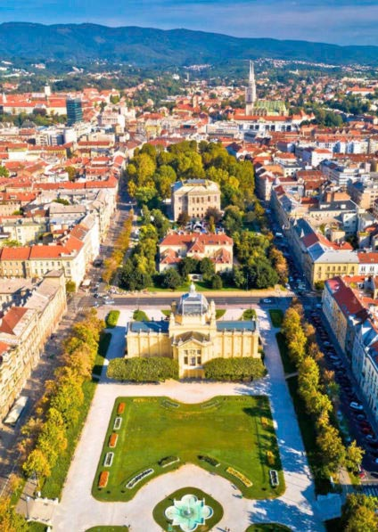 private guided walking tour of Zagreb
