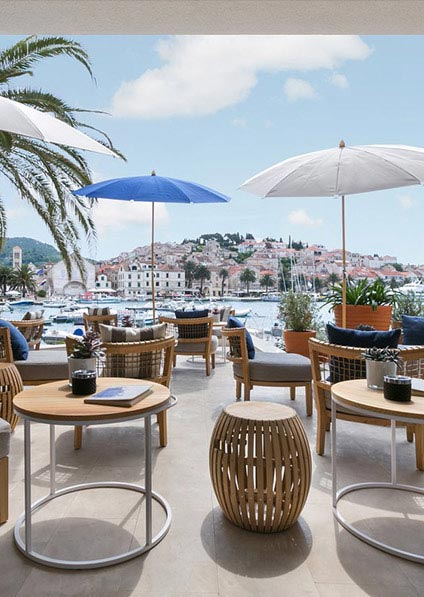 Adriana hotel in Hvar is one of Croatia's finest hotels