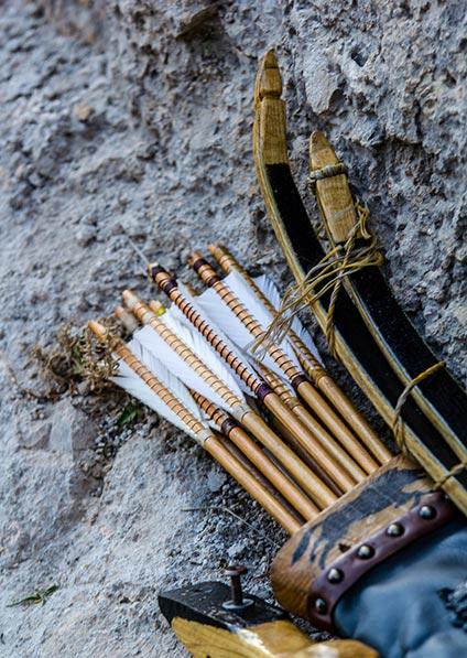 enjoy an archery class at Kliss Fortress in Split