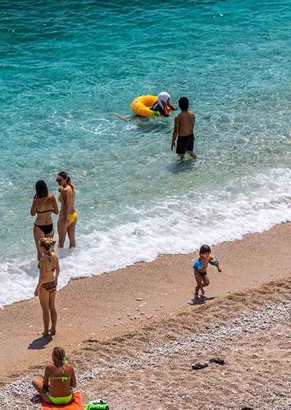 enjoy Croatian beaches with your family