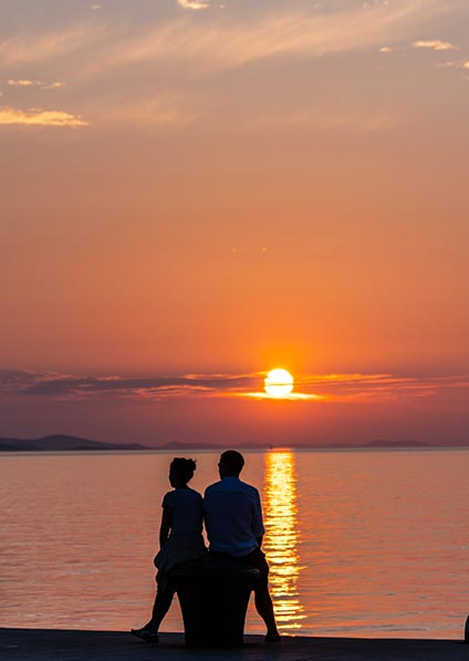 enjoy romantic walks and sunset watching with your loved one