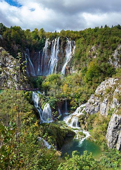 private walking tour of Plitvice lakes