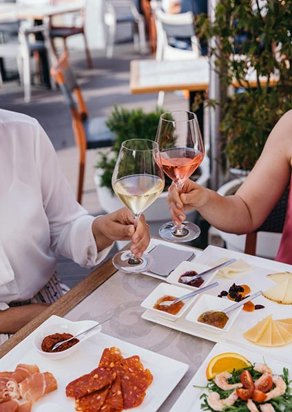 Wine and cheese tasting in Split - wine tour of Croatia; croatian wines
